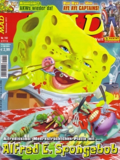 Go to MAD Magazine #142 • Germany • 2nd Edition - Dino/Panini