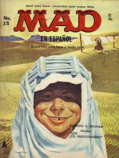 Go to MAD Magazine #15 • Spanish Export