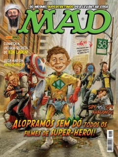 MAD Magazine #38 • Brasil • 4th Edition - Panini
