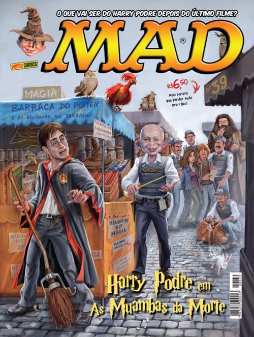 MAD Magazine #39 • Brasil • 4th Edition - Panini