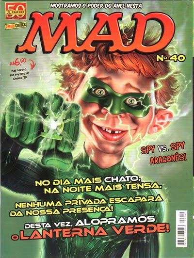 MAD Magazine #40 • Brasil • 4th Edition - Panini