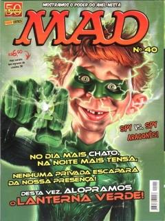 Go to MAD Magazine #40 • Brasil • 4th Edition - Panini