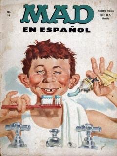 Go to MAD Magazine #14 • Spanish Export