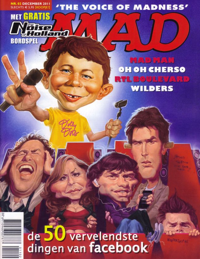 MAD Magazine #2 • Netherlands • 2nd Edition - Don Lawrence Collection