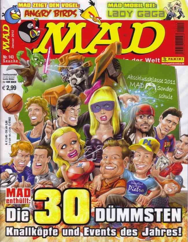 MAD Magazine #143 • Germany • 2nd Edition - Dino/Panini
