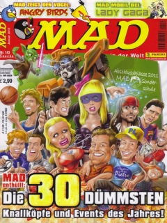 Go to MAD Magazine #143 • Germany • 2nd Edition - Dino/Panini