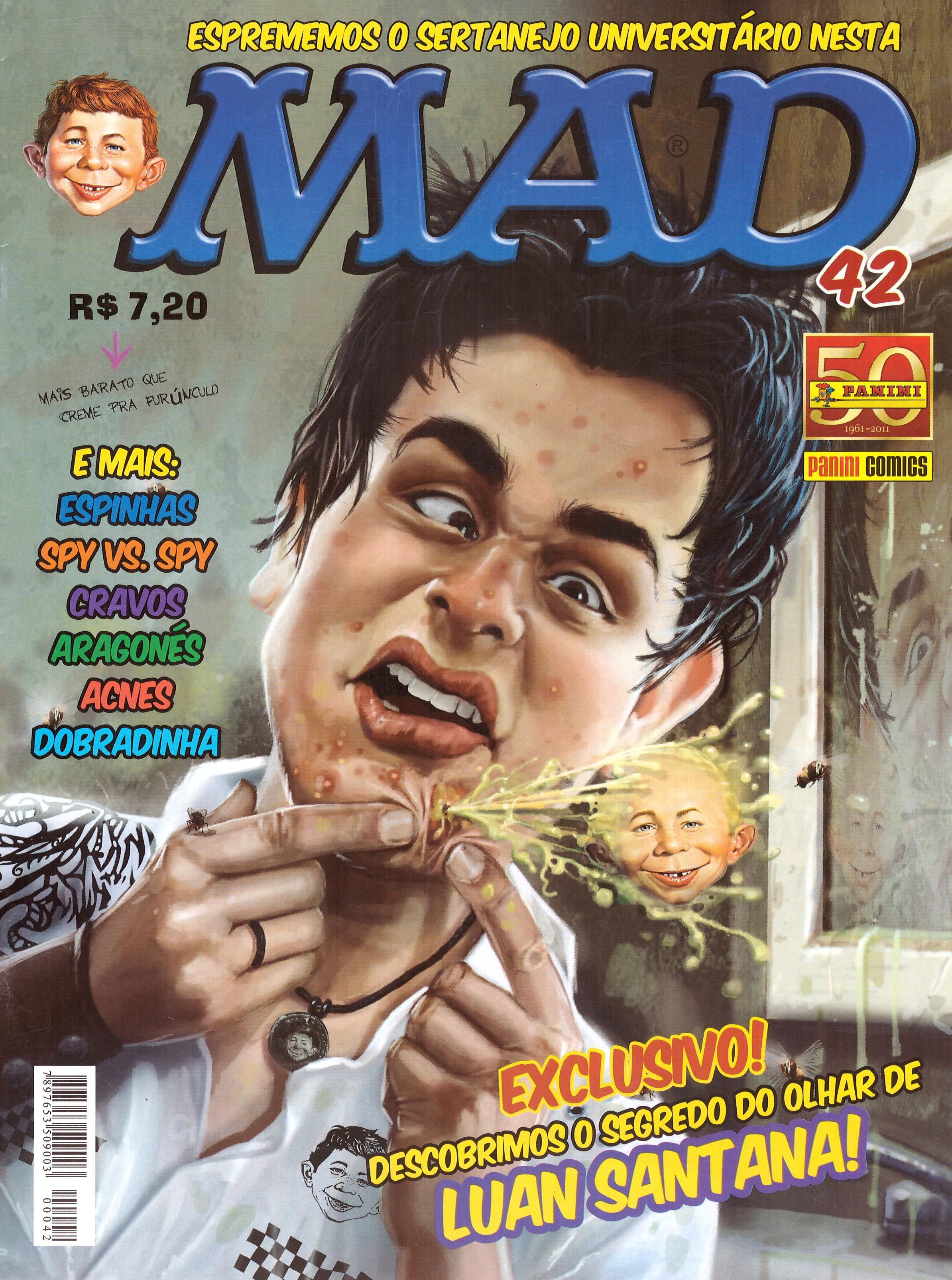 MAD Magazine #42 • Brasil • 4th Edition - Panini