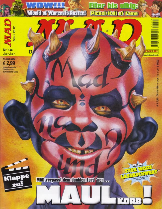 MAD Magazine #144 • Germany • 2nd Edition - Dino/Panini