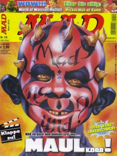Go to MAD Magazine #144 • Germany • 2nd Edition - Dino/Panini