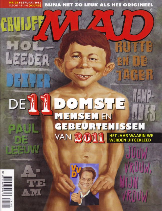 MAD Magazine #3 • Netherlands • 2nd Edition - Don Lawrence Collection