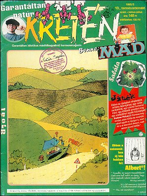 Kretén Magazine #10 • Hungary • 1st Edition - Kreten