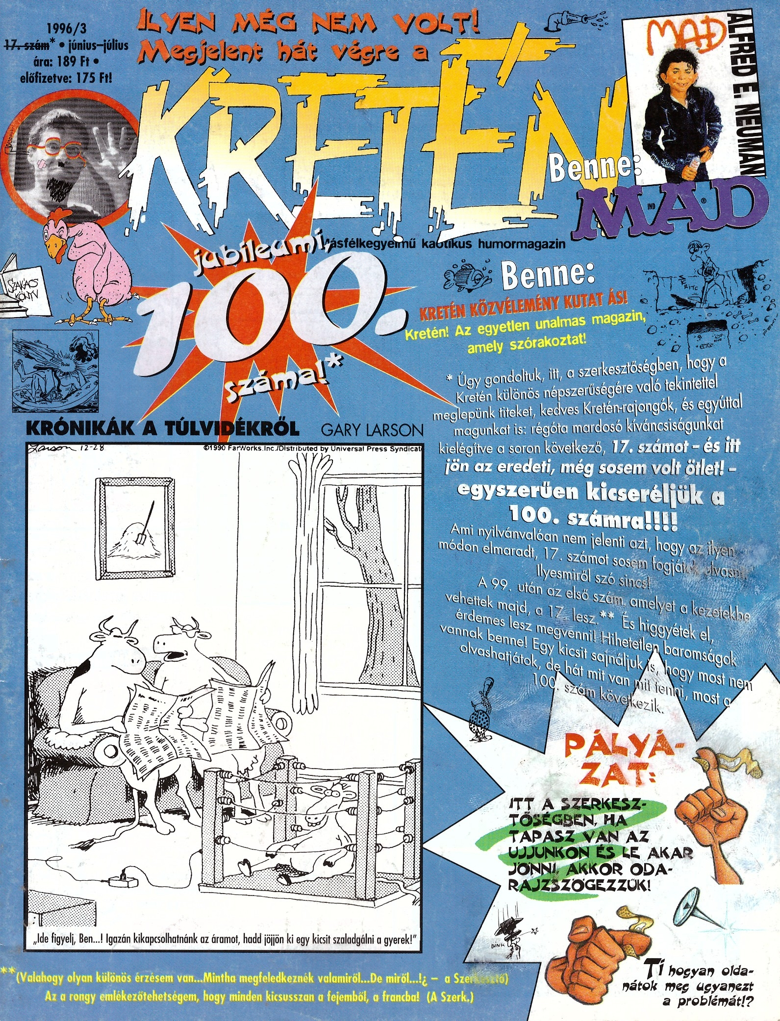 Kretén Magazine #17 • Hungary • 1st Edition - Kreten