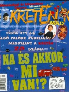 Go to Kretén Magazine #25 • Hungary • 1st Edition - Kreten