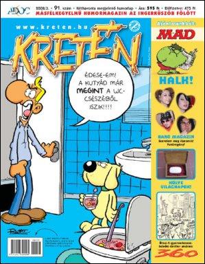 Kretén Magazine #91 • Hungary • 1st Edition - Kreten