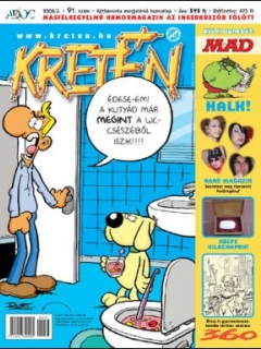 Go to Kretén Magazine #91 • Hungary • 1st Edition - Kreten