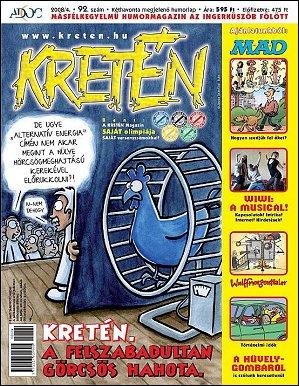 Kretén Magazine #92 • Hungary • 1st Edition - Kreten