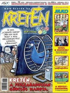Go to Kretén Magazine #92 • Hungary • 1st Edition - Kreten