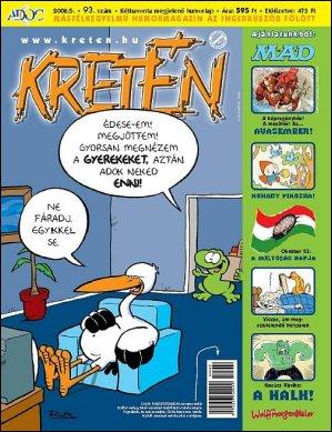 Kretén Magazine #93 • Hungary • 1st Edition - Kreten