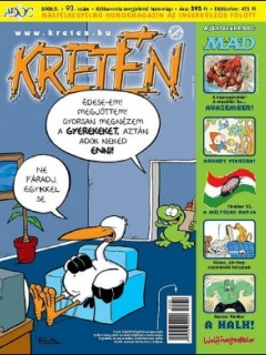 Go to Kretén Magazine #93 • Hungary • 1st Edition - Kreten