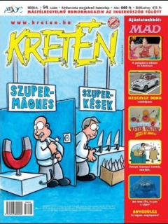 Go to Kretén Magazine #94 • Hungary • 1st Edition - Kreten