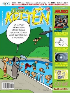 Go to Kretén Magazine #96 • Hungary • 1st Edition - Kreten