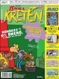 Go to Kretén Magazine #97 • Hungary • 1st Edition - Kreten