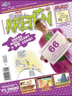 Go to Kretén Magazine #99 • Hungary • 1st Edition - Kreten