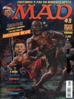 MAD Magazine #43 • Brasil • 4th Edition - Panini