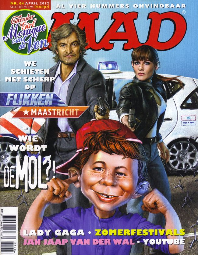 MAD Magazine #4 • Netherlands • 2nd Edition - Don Lawrence Collection