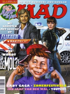 Go to MAD Magazine #4 • Netherlands • 2nd Edition - Don Lawrence Collection