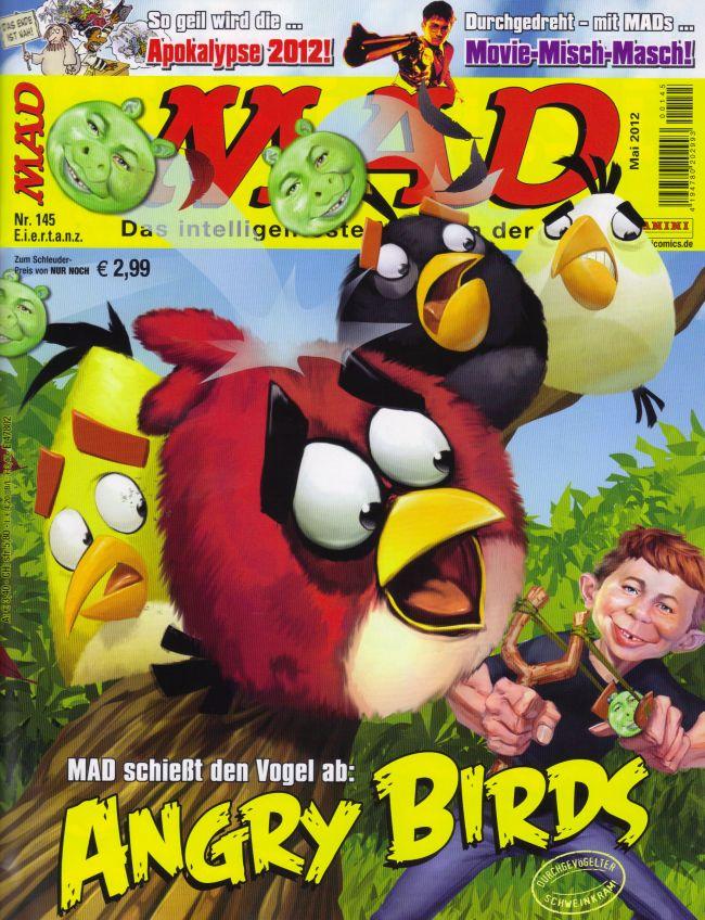 MAD Magazine #145 • Germany • 2nd Edition - Dino/Panini