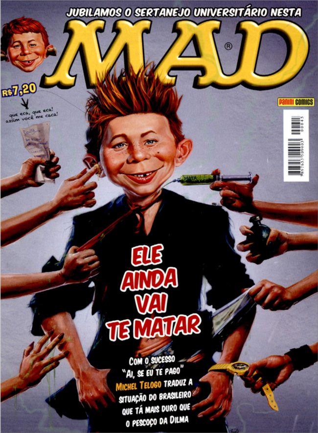 MAD Magazine #45 • Brasil • 4th Edition - Panini