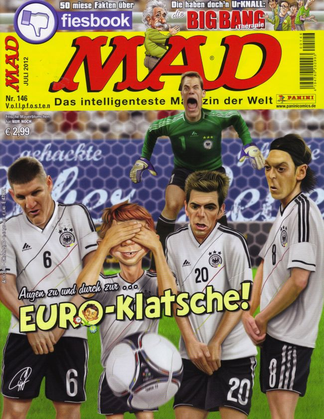 MAD Magazine #146 • Germany • 2nd Edition - Dino/Panini