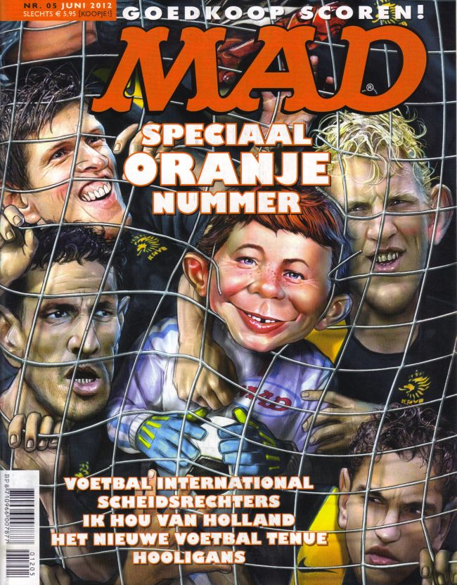 MAD Magazine #5 • Netherlands • 2nd Edition - Don Lawrence Collection