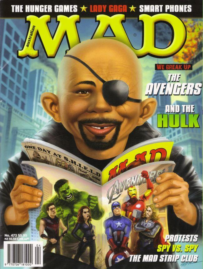 MAD Magazine #473 • Australia