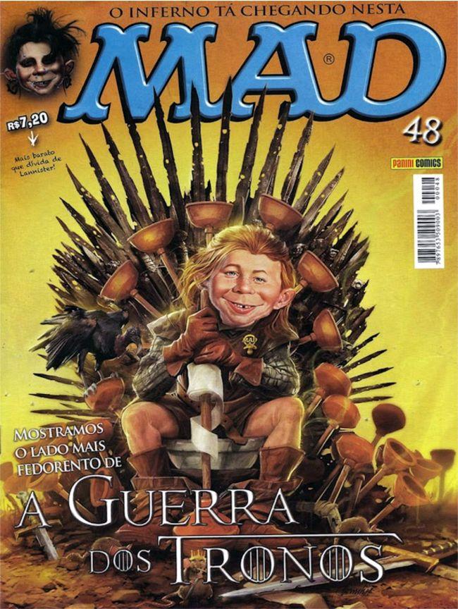 MAD Magazine #48 • Brasil • 4th Edition - Panini