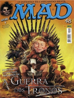 MAD Magazine #48 • Brasil • 4th Edition - Panini