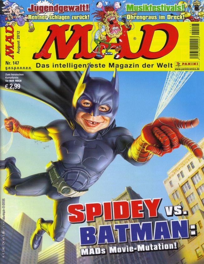 MAD Magazine #147 • Germany • 2nd Edition - Dino/Panini