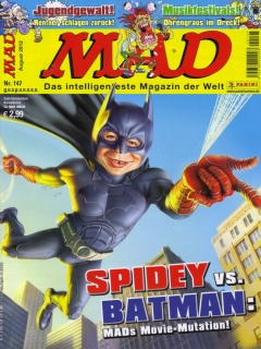 Go to MAD Magazine #147 • Germany • 2nd Edition - Dino/Panini