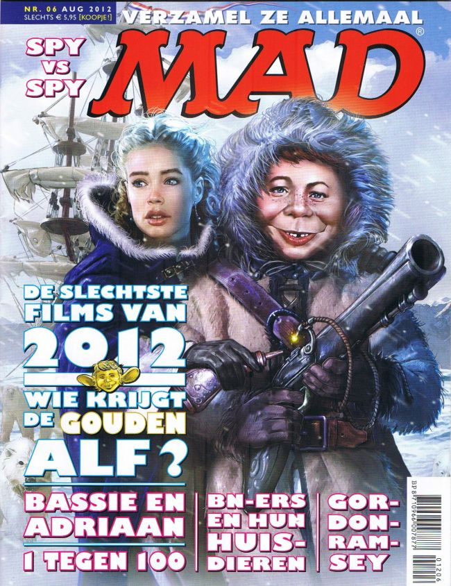 MAD Magazine #6 • Netherlands • 2nd Edition - Don Lawrence Collection