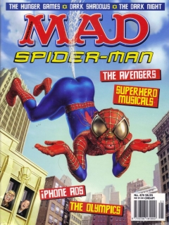 Go to MAD Magazine #474 • Australia