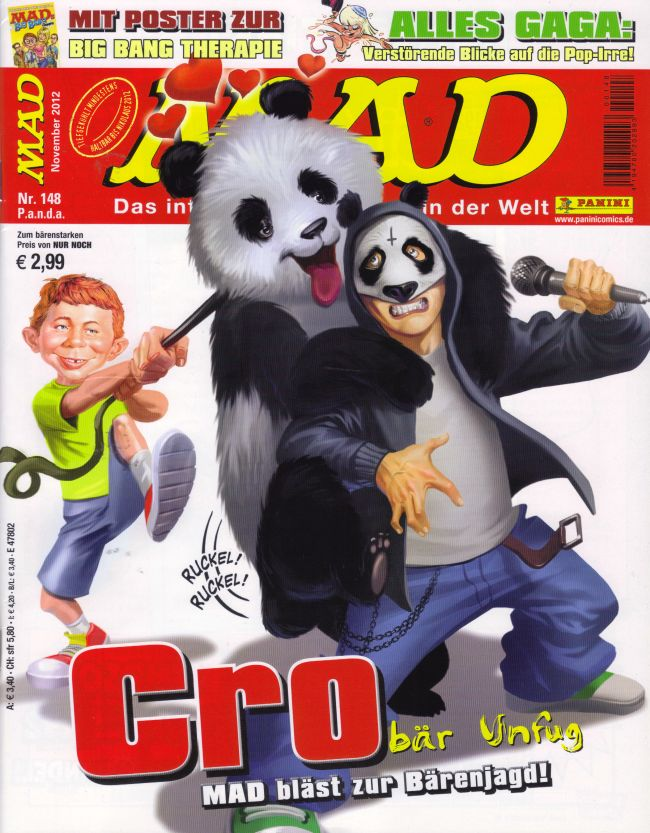 MAD Magazine #148 • Germany • 2nd Edition - Dino/Panini
