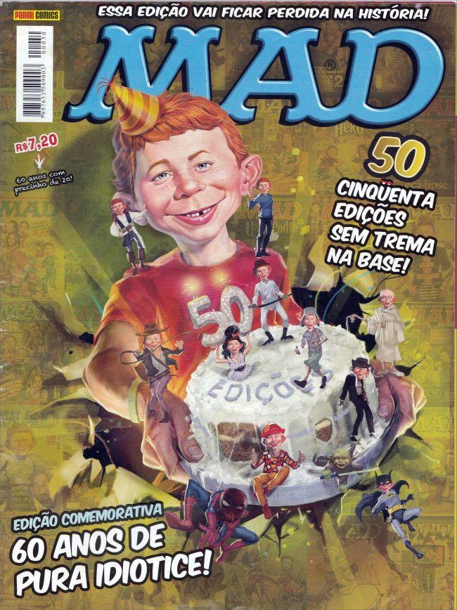MAD Magazine #50 • Brasil • 4th Edition - Panini
