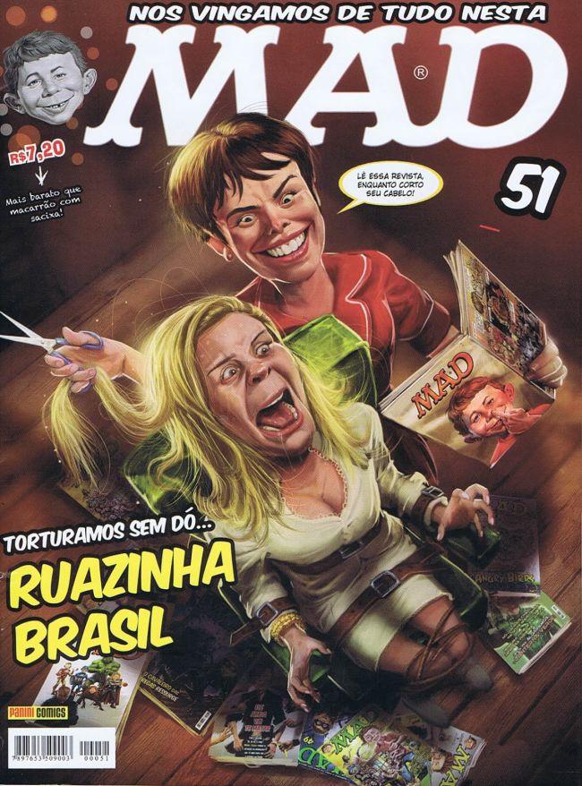 MAD Magazine #51 • Brasil • 4th Edition - Panini