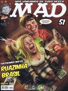 MAD Magazine #51 • Brasil • 4th Edition - Panini