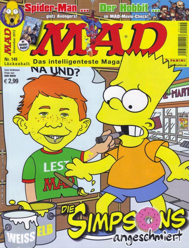 MAD Magazine #149 • Germany • 2nd Edition - Dino/Panini