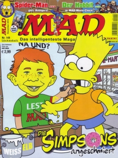Go to MAD Magazine #149 • Germany • 2nd Edition - Dino/Panini