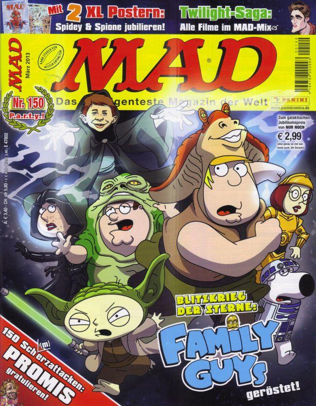 MAD Magazine #150 • Germany • 2nd Edition - Dino/Panini
