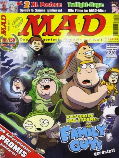 Go to MAD Magazine #150 • Germany • 2nd Edition - Dino/Panini
