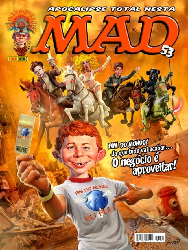 MAD Magazine #53 • Brasil • 4th Edition - Panini